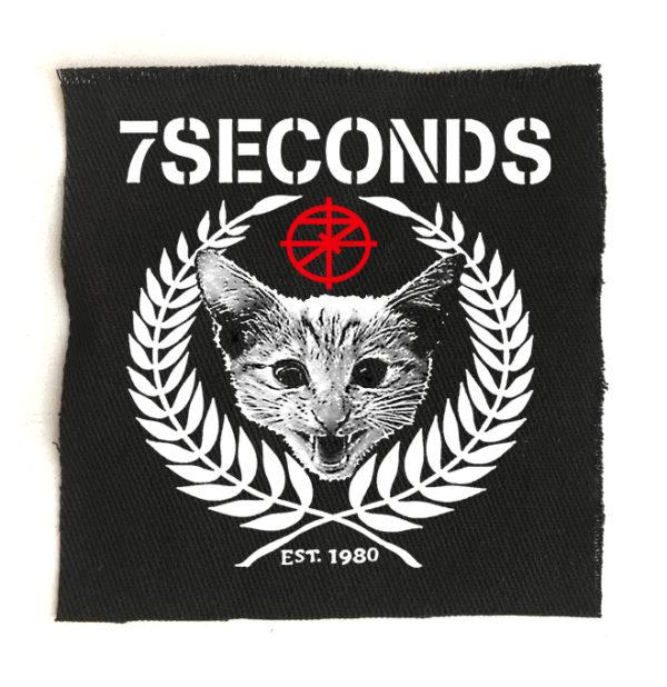 нашивка 7 Seconds