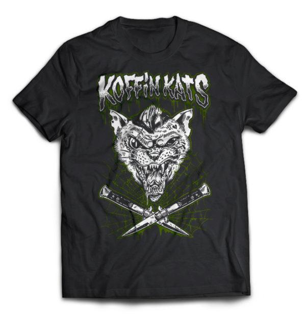 футболка Koffin Kats