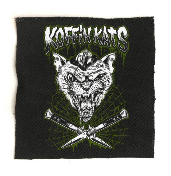 нашивка Koffin Kats