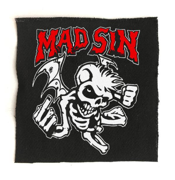 нашивка Mad Sin