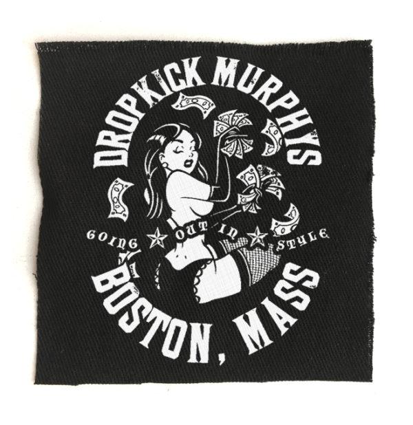 нашивка Dropkick Murphys