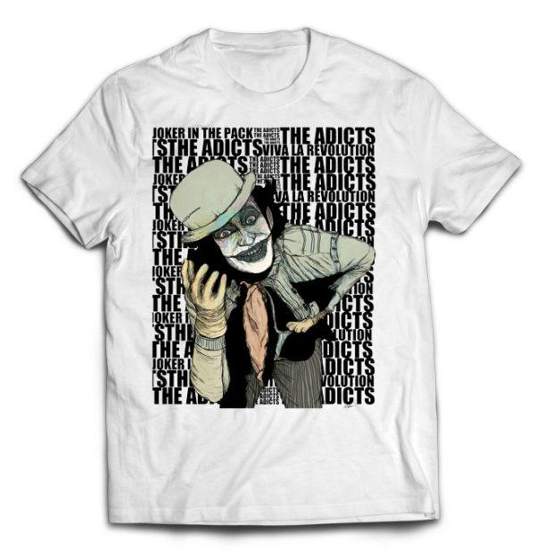 футболка белая Adicts