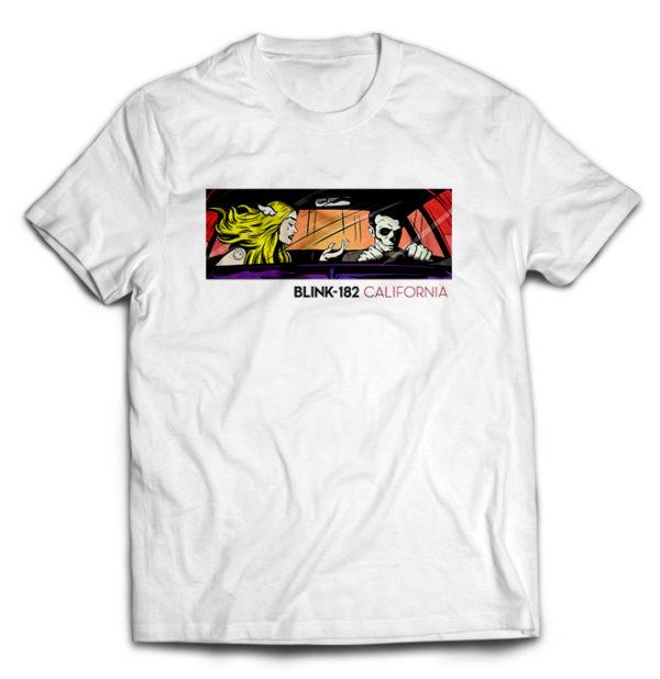 футболка белая Blink-182