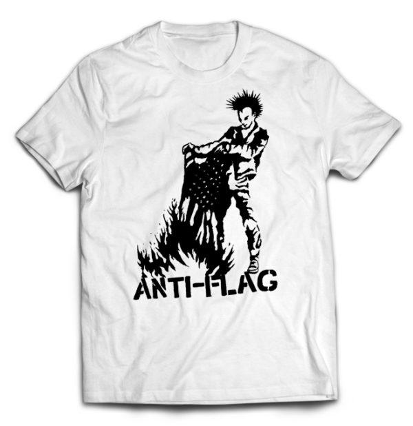 футболка белая Anti-flag