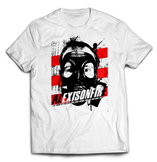 футболка белая Alexisonfire