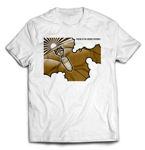 футболка белая Bandits of the ac rev