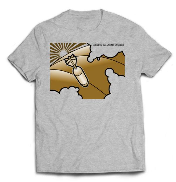футболка серая Bandits of the ac rev