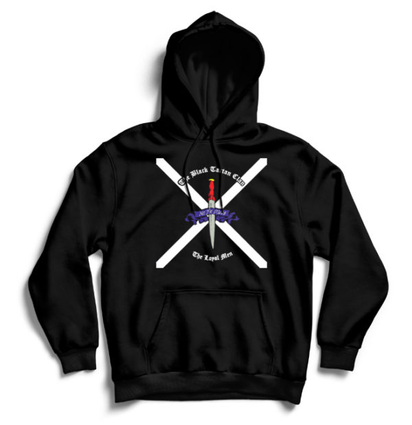 худи Black Tartan Clan