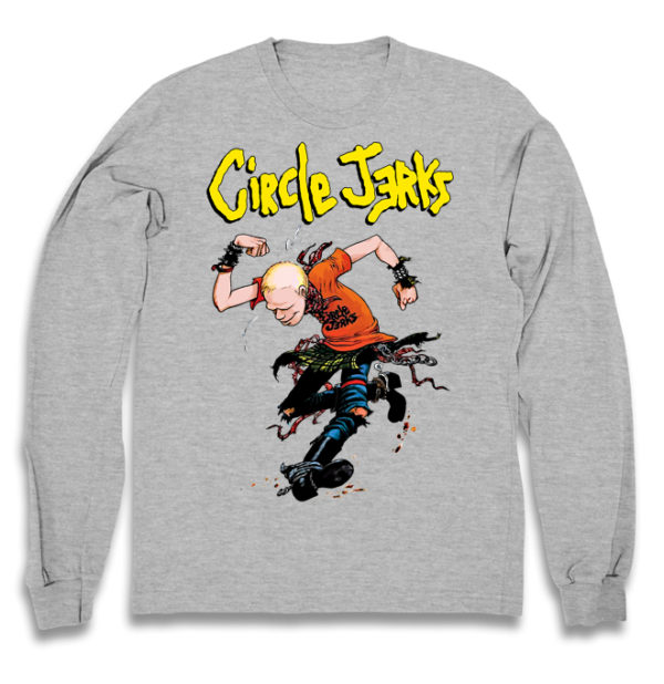 свитшот Circle jerks +++