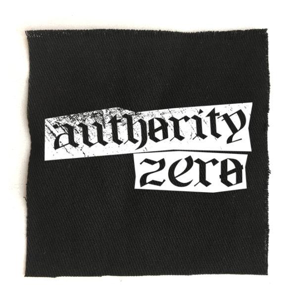 нашивка Authority zero