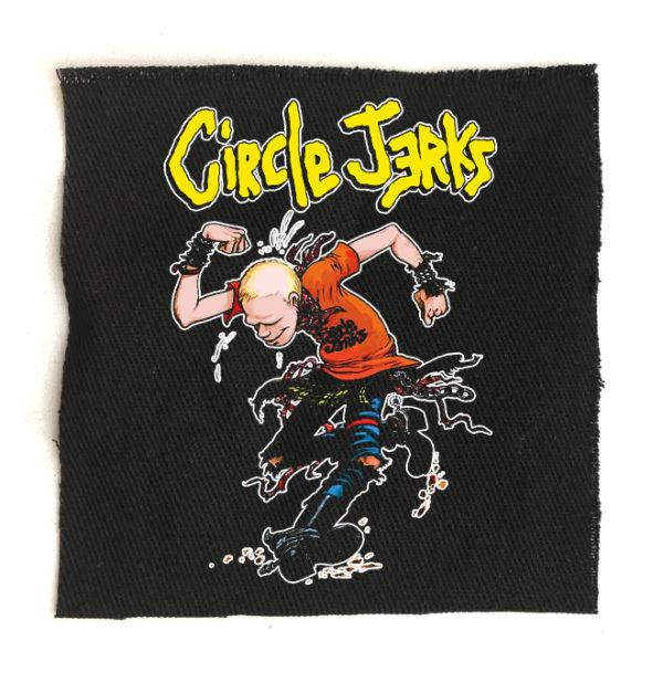 нашивка Circle jerks +++