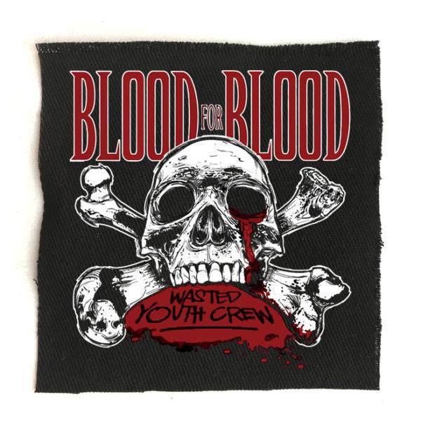 нашивка Blood for Blood