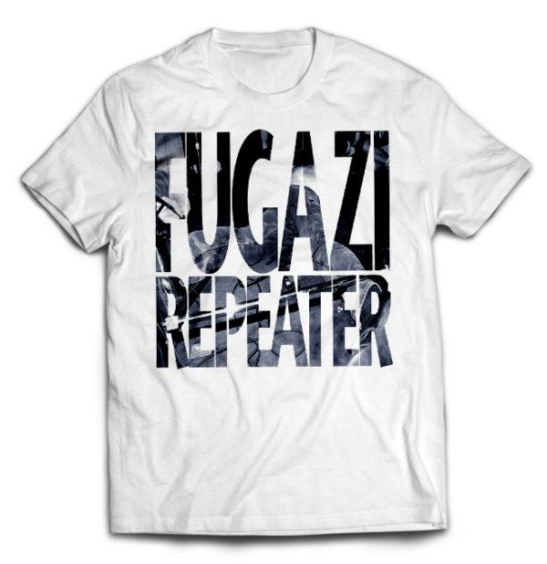 футболка белая Fugazi
