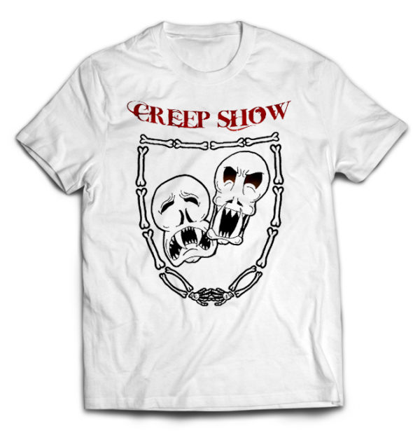 футболка белая Creepshow