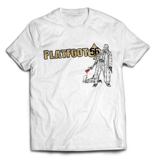 футболка белая Flatfoot 56