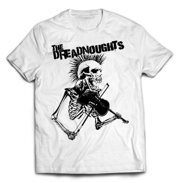 футболка белая Dreadnoughts