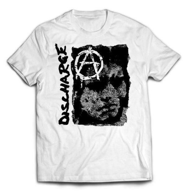 футболка белая Discharge