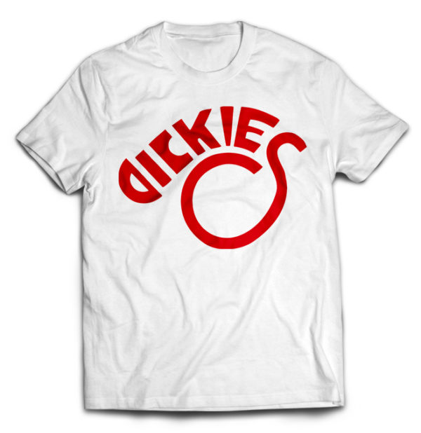 футболка белая Dikies