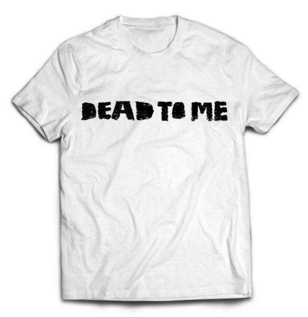 футболка белая Dead to me