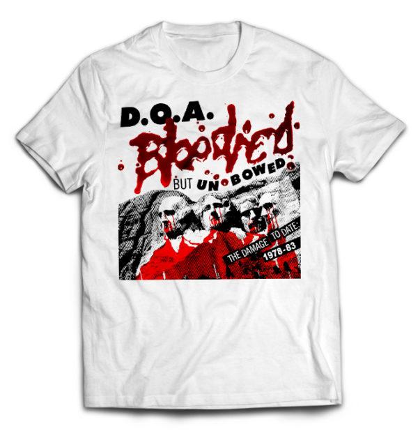 футболка белая D.O.A