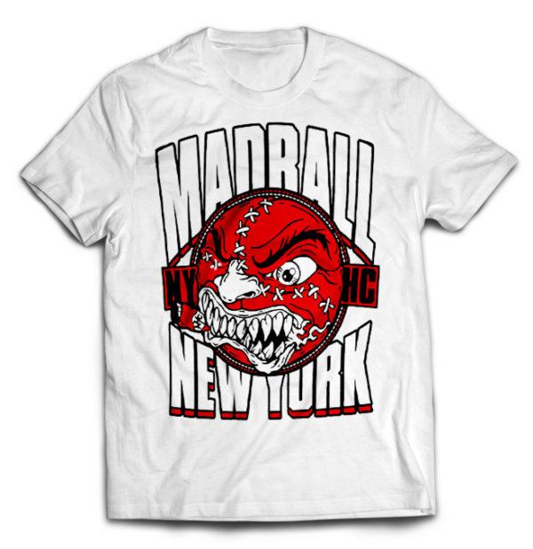 футболка белая Madball