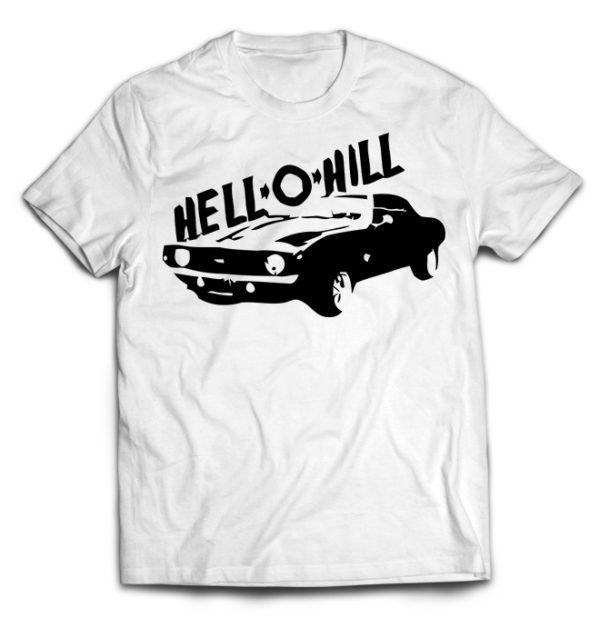 футболка белая Hell-o-hill