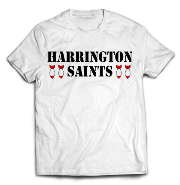 футболка белая Harrington Saints