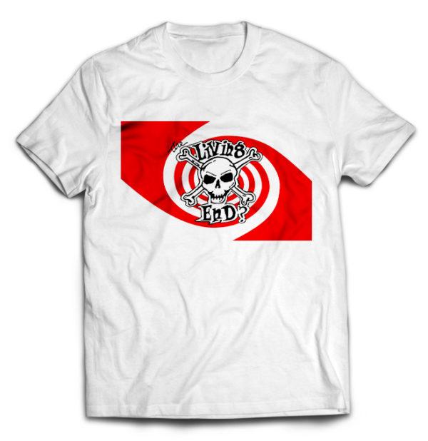 футболка белая Living End, the