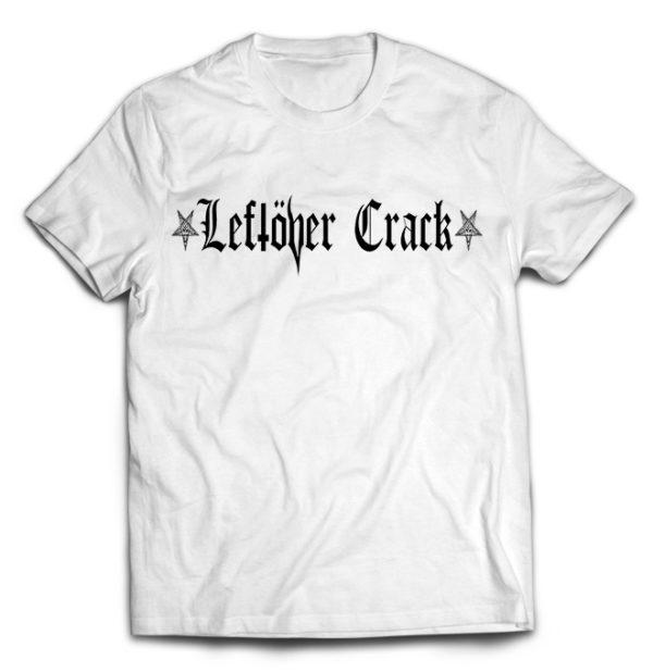 футболка белая Leftover Crack
