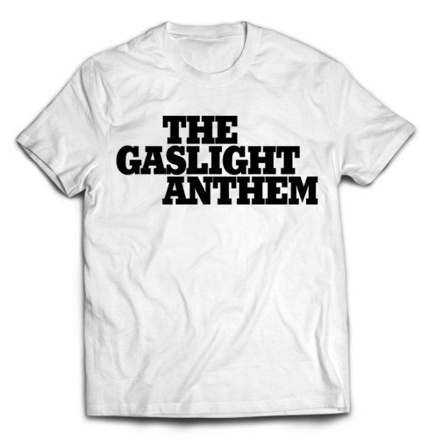 футболка белая Gaslight anthem