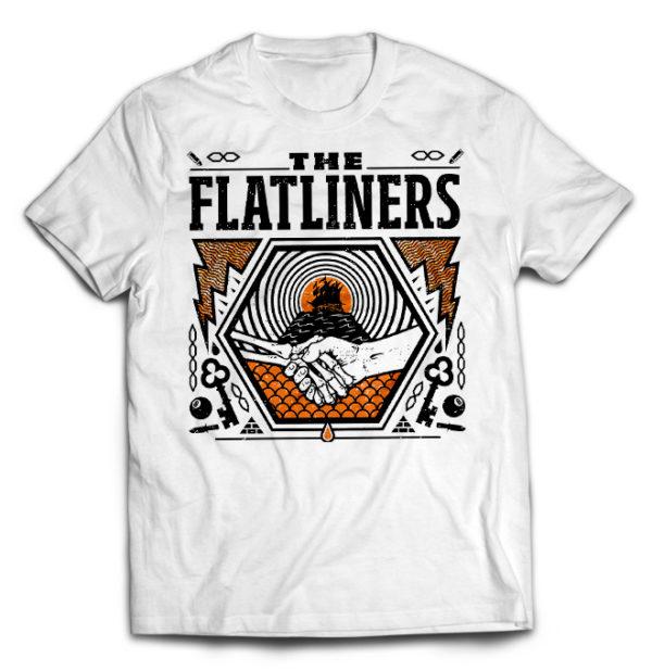 футболка белая Flatliners