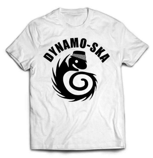 футболка белая Dynamo Ska