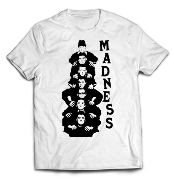 футболка белая Madness