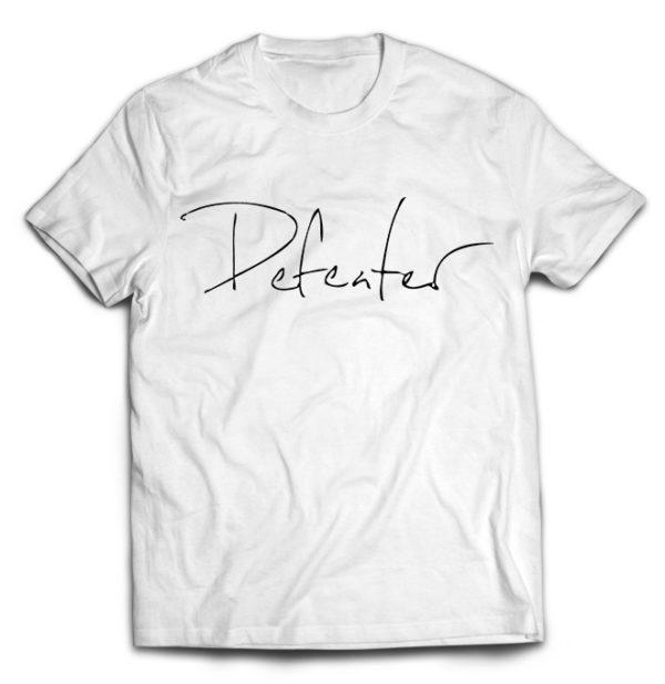 футболка белая Defeater