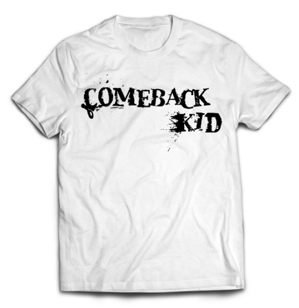 футболка белая Comeback kid