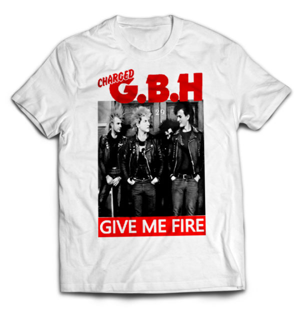 футболка белая G.B.H