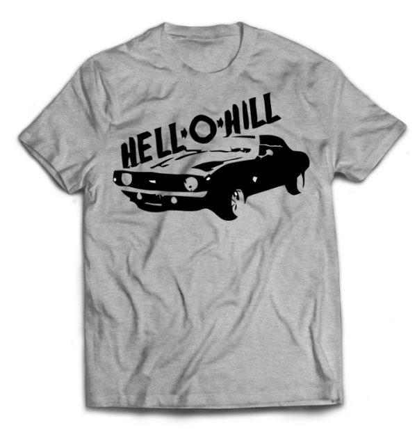 футболка серая Hell-o-hill