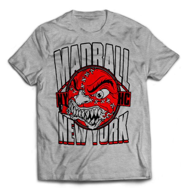 футболка серая Madball