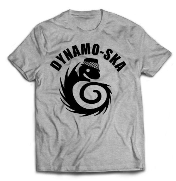 футболка серая Dynamo Ska