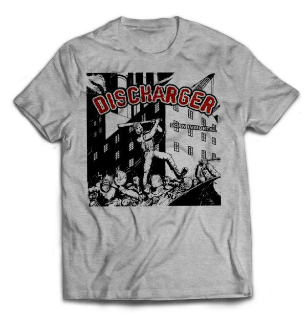футболка серая Discharger