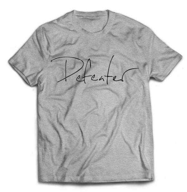 футболка серая Defeater
