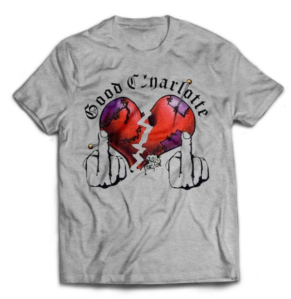 футболка серая Good Charlotte