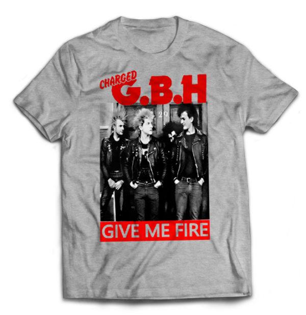 футболка серая G.B.H