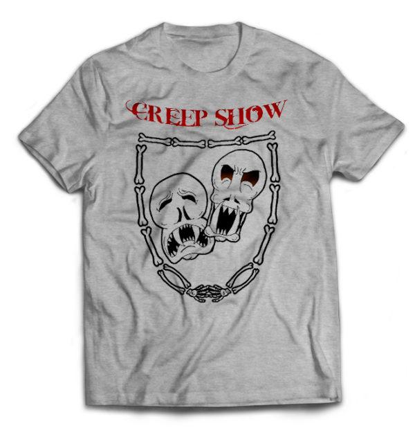 футболка серая Creepshow