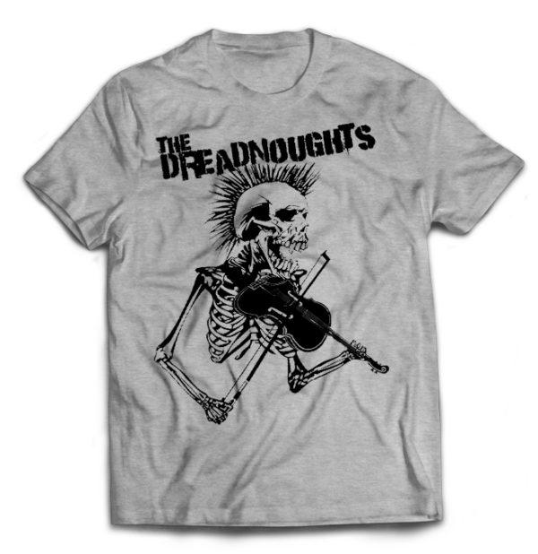футболка серая Dreadnoughts