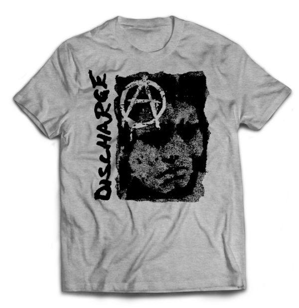 футболка серая Discharge