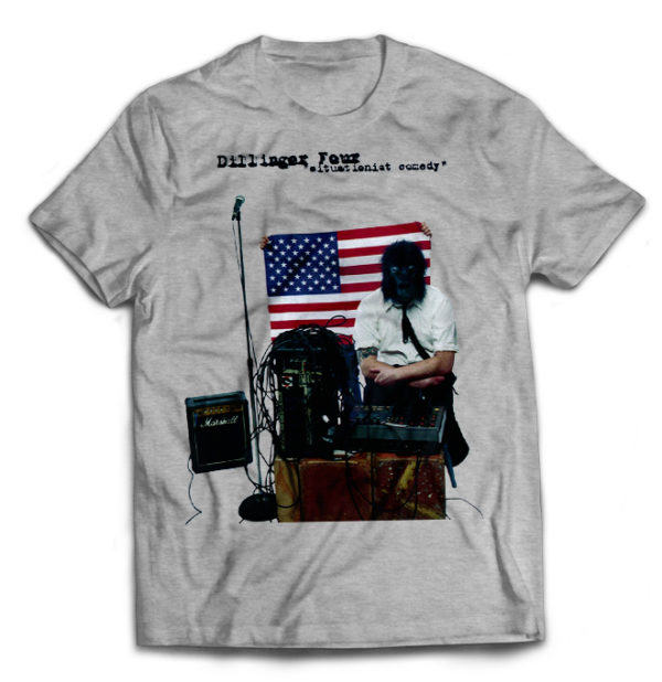 футболка серая Dillinger four
