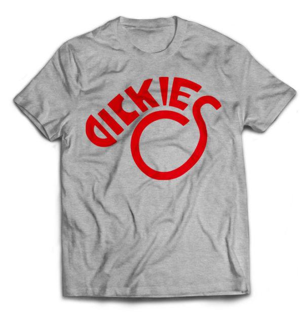 футболка серая Dikies