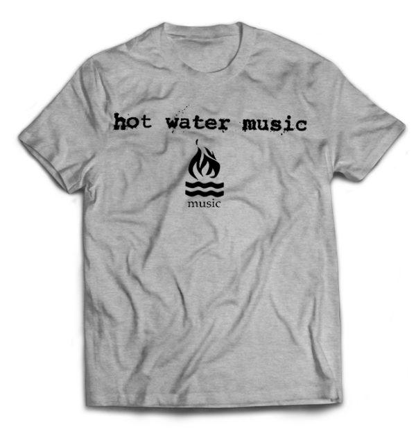 футболка серая Hot Water Music