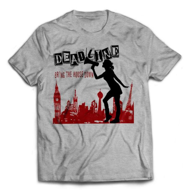футболка серая Deadline